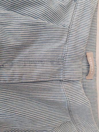 Calças em algodão Stefanel