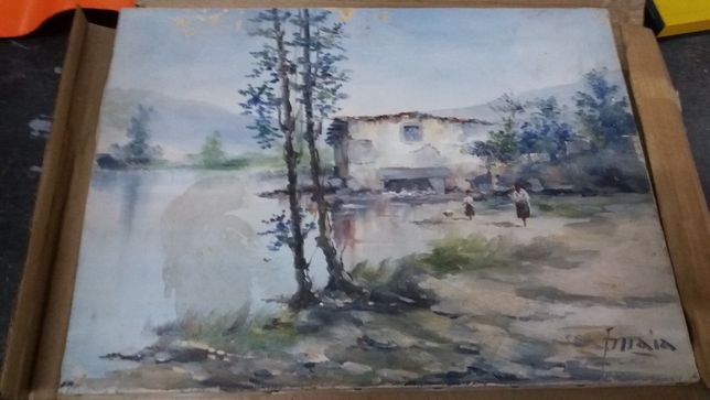 Telas do pintor Francisco Maia ( F.Maia)