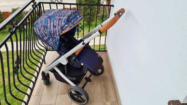 Wózek 2w1 Cybex Balios S Fashion Trust Blue Gold PREMIUM Gwarancja