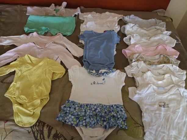Пакет одягу для дівчинки 0-6 міс