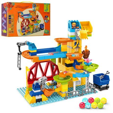 Конструктор Парк аттракционов 2588 В 128 дет Lego лего Duplo