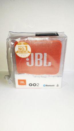 Nowy Głośnik Przenośny Bluetooth JBL GO 2 Pomarańczowy GWARANCJA
