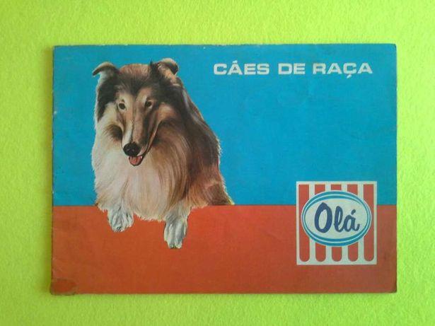 """Caderneta da Olá """" Cães de Raça """""""