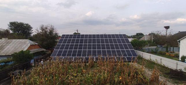Сонячні електростанції під ключ(зелений тариф, станції для підприємств