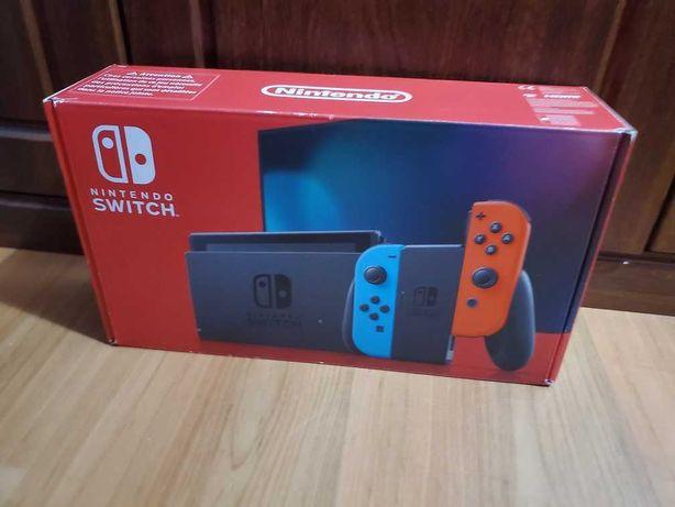 Nintendo Switch wersja v2/super dodatki+ 2 gry gratis /okazja cenowa