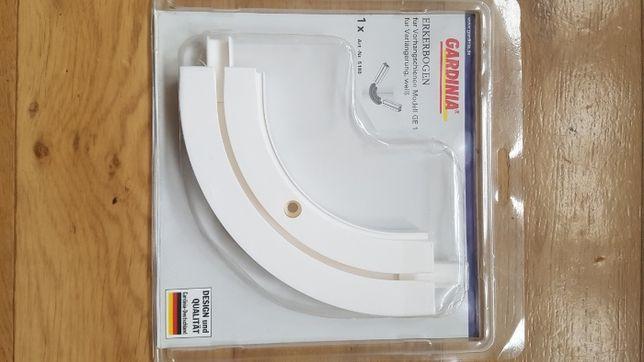 Gardinia - łuk przedłużający, biały