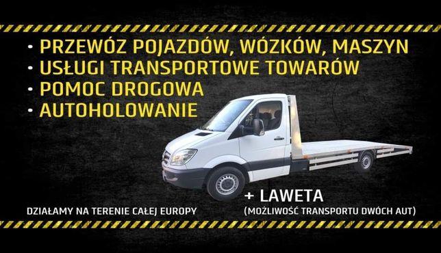 Autolaweta Pomoc drogowa Laweta Transport aut