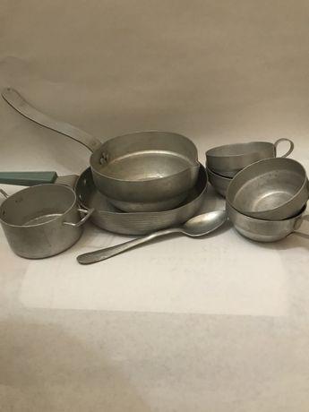Детская посудка Алюминий СССР цена за все!
