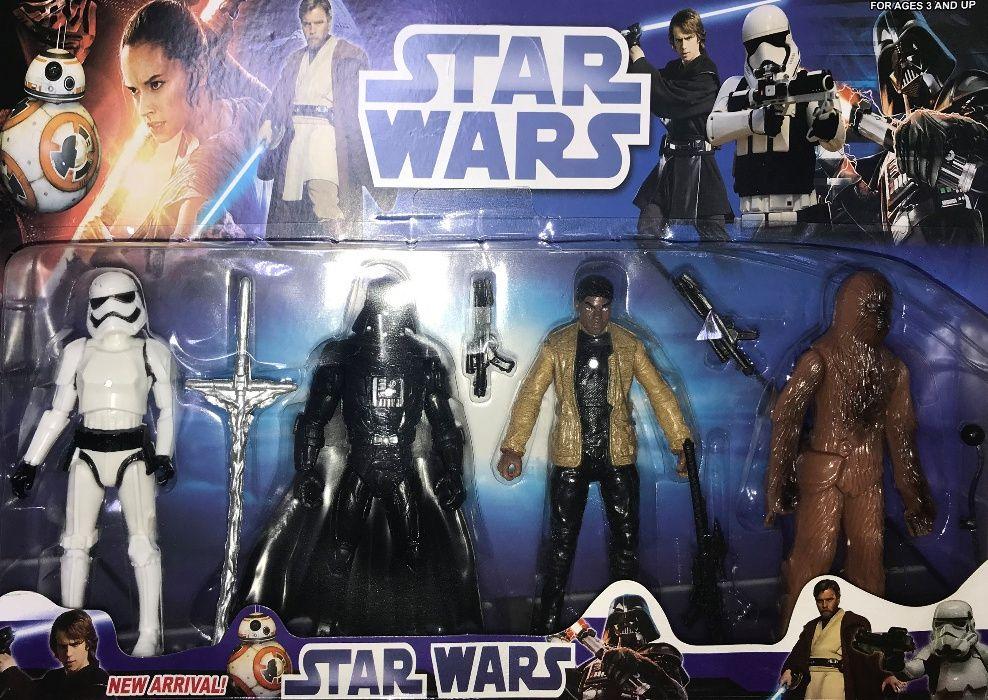 Zestaw 4 Figurek Star Wars dla Dzieci Zabawka