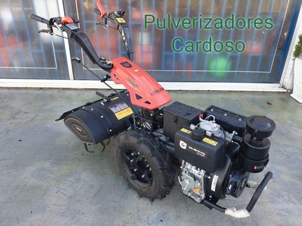 Motocultivador Gasóleo 10 HP Arranque Elétrico