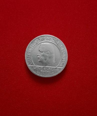 3 Рейх марки , 10 лет конституции
