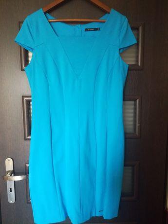 Elegancka sukienka MONNARI 44 niebieska