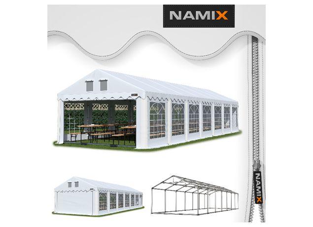 Namiot GRAND 6x14 ogrodowy imprezowy garaż wzmocniony PVC 560g/m2