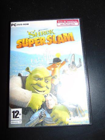 Shrek SuperSlam DVD-ROM c/ Oferta Artur e os Minimeus DVD-ROM DEMO
