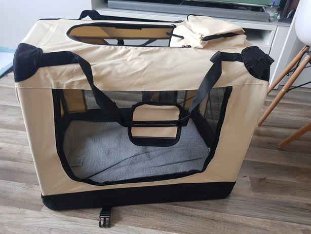 Transporter kojec torba klatka składały dla psa L
