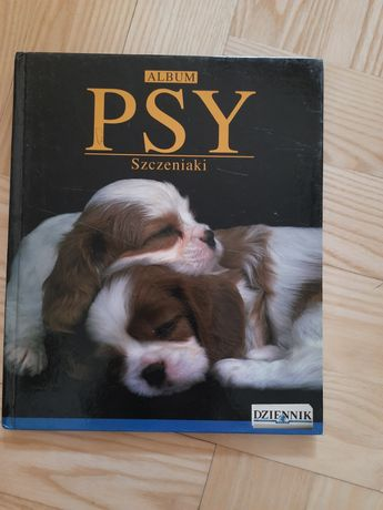 Książka pt. Album psy szczeniaki