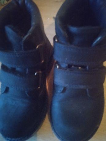 Ботинки на мальчика 26р