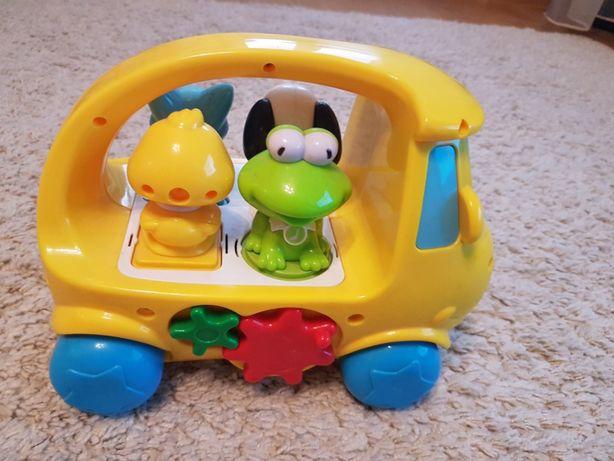 !!JAK NOWY!!Interaktywny Sorter muzyczny Van, Autobus Smiki, zabawki