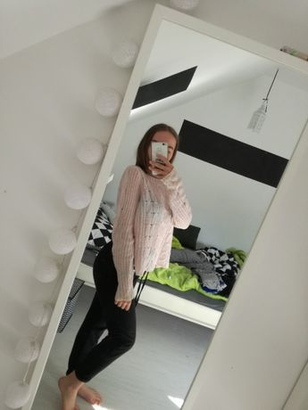 Zestaw 2x bluza i koszulka sweter sinsay croop Reserved mohito h&m