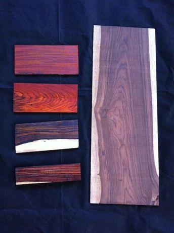 Madeira exótica para luthiers