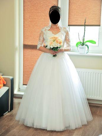 Suknia ślubna 34 księżniczka