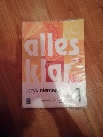 Podręcznik do jezyka niemieckiego: Alles Klar New 1