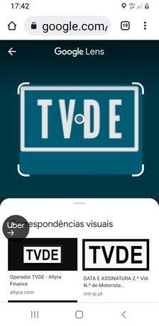 Empresa tvde com uber , bolt , free now