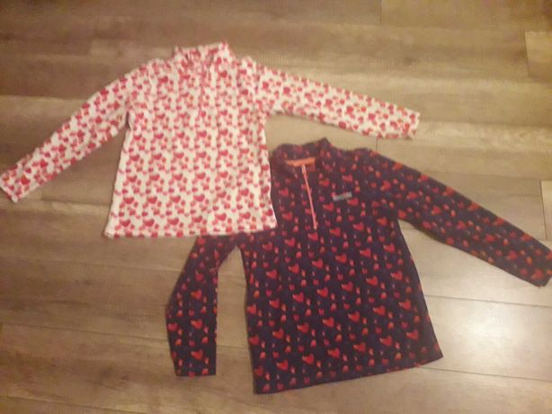 Bluza polar Regatta, oryginalne, dwa kolory, serduszka:)