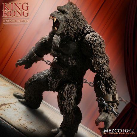 King kong mezco toys