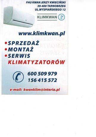 Klimatyzacja  montaż,sprzedaż