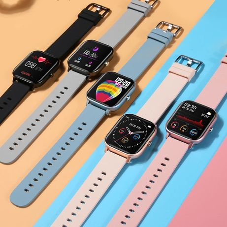 Smartwatch super jakość metalowa obudowa