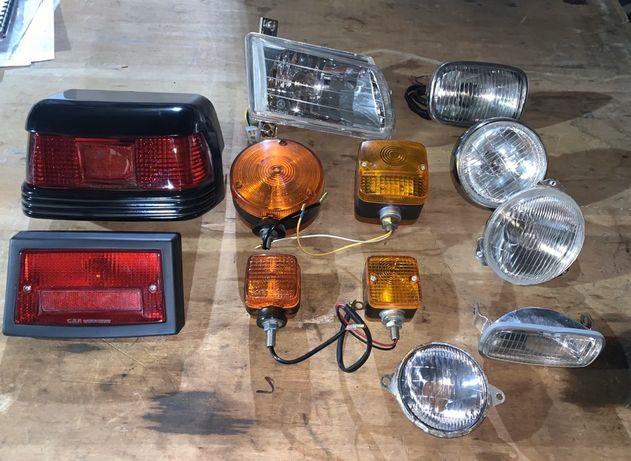 Фари, повороти, лампочки до японських тракторів Yanmar, Kubota, Iseki