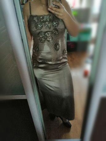 Sukienka jedwab hexaline