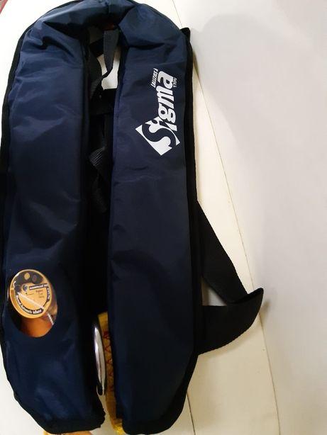 Colete INSUFLÁVEL SIGMA CE 170N, hammar MA1, azul