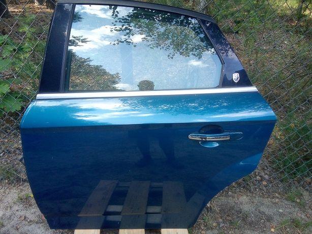 Drzwi lewy tył FORD MONDEO MK4 niebieski 46 hatchback