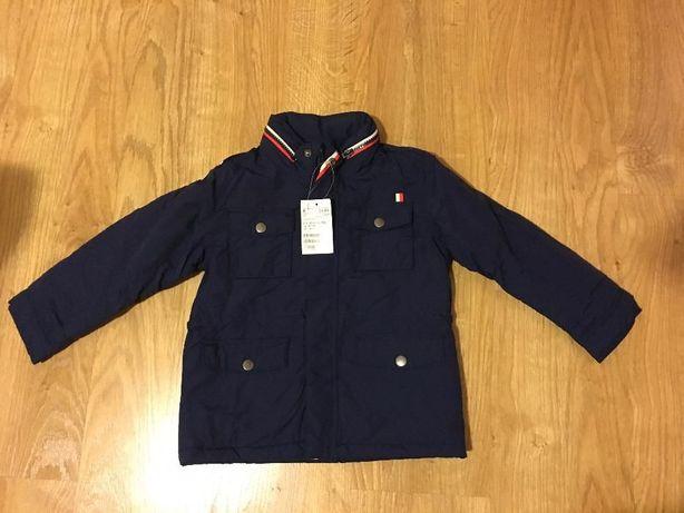 Детская куртка тёмно-синяя H&M рост 128