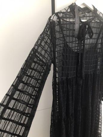 Sukienka z koronki marki MIHOS one size Made in Italy NOWA