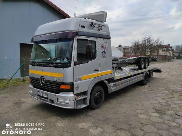 Mercedes-Benz Atego 823  Autolaweta Mercedes Atego 823 pojazd specjalny dmc 7490kg 123 tys. km
