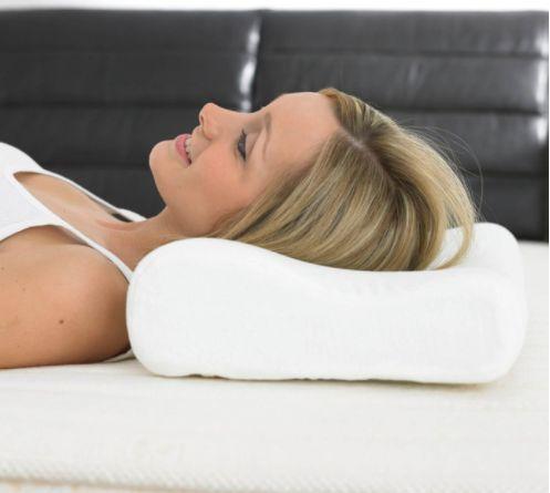Крепкий сон! Ортопедическая подушка с памятью Memory Pillow