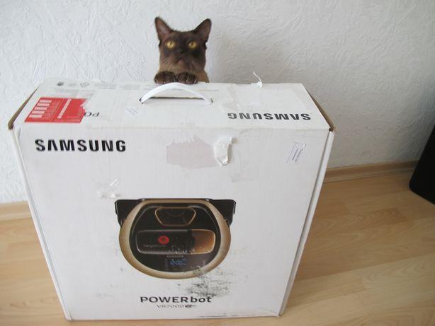 Пылесос робот Samsung с Wi-Fi, на гарантии со смартфона пульта