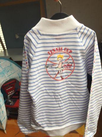 Marynarska bluza dziewczęca 5-10-15 rozm 122