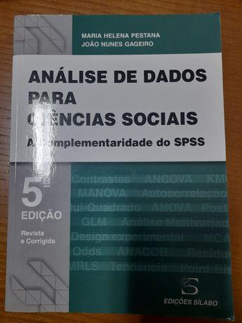 Análise de dados para ciências sociais - a complementaridade do SPSS
