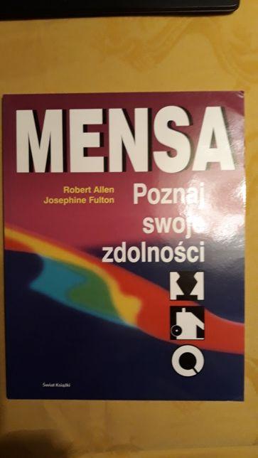 """Książka """"Mensa. Poznaj swoje zdolności """" R. Allen, J. Fulton"""
