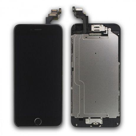 Ecrã LCD para iPhone 6 completo c/ camera + coluna + botao home etc...