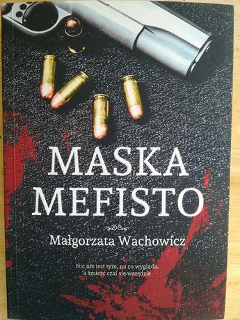 Maska Mefisto - M. Wachowicz - kryminał
