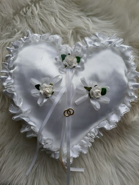 Poduszka na obrączki ślubne wesele ślub