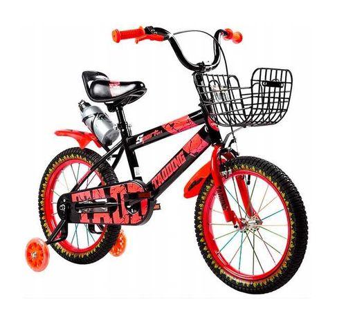Rower dziecięcy 16 cali Rowerek Pro Sport Czerwony BMX CROSS