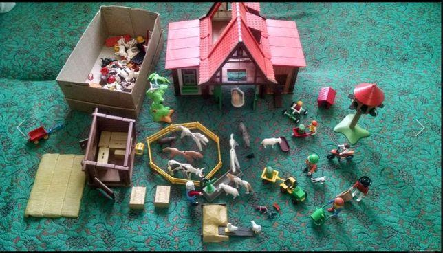 Playmobil ферма,Lego,конструктор,самый большой раритетный набор+