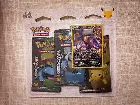Pokemon Generations Triple pack português
