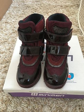 Зимние термо ботинки Minimen р. 35